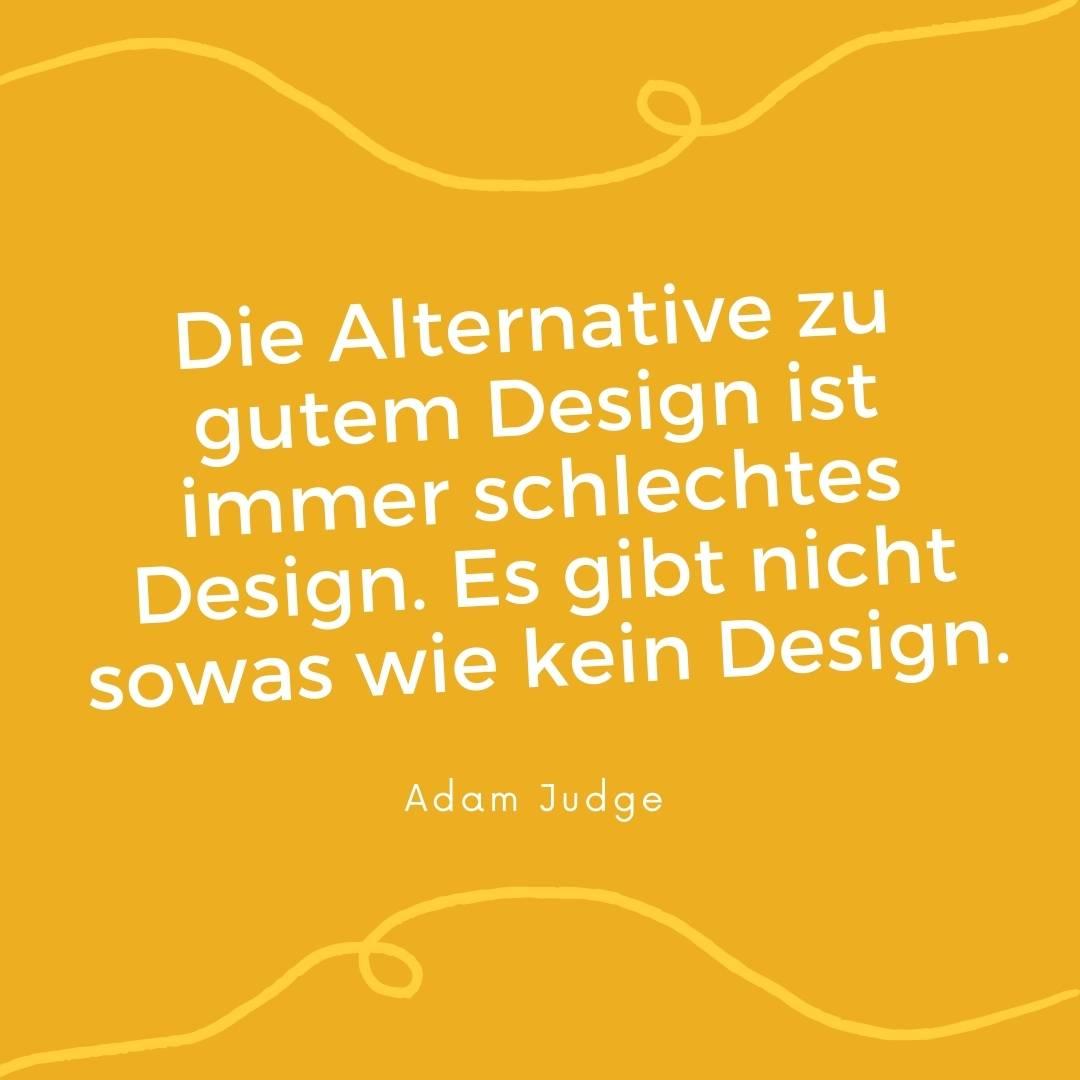 Man kann nicht nicht designen